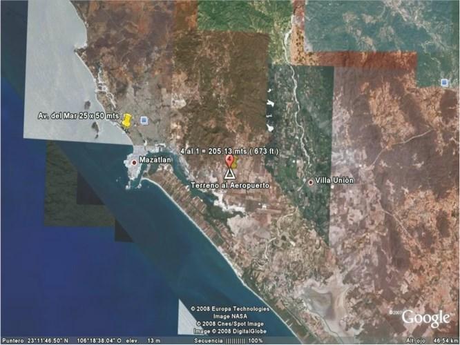 Se vende terreno en Parque Industrial Mazatlán